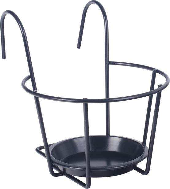 Potteholder, 20,5 cm, sort