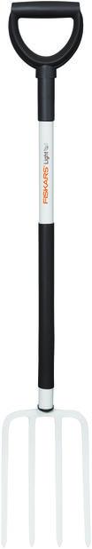 Spade Greip lett Fiskars, Lengde 105 cm, Hvit