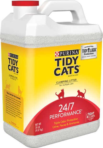 Kattesand Tidy Cats 24/7 Performance, 9 kg, Flerfarget