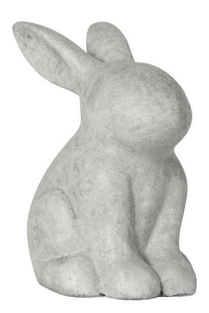Sementkanin, Høyde 30 cm, Grå