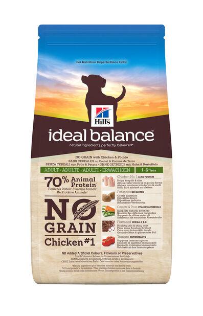 Ib Canine Adult No Grain Chicken & Potato 12 Kg, 12 kg, Hvit