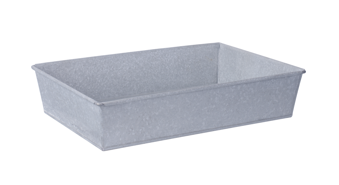 Sinkboks S, Lengde 40 cm, Sølv