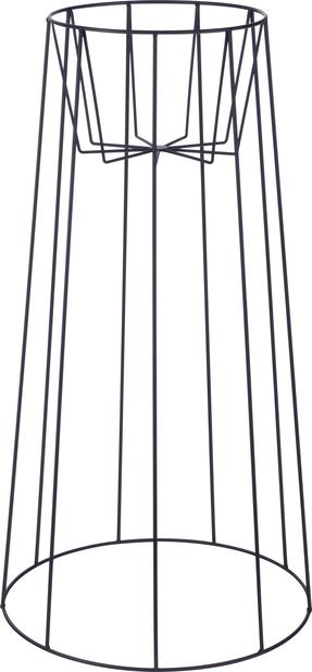 Pidestall Danny , Høyde 75 cm, Svart