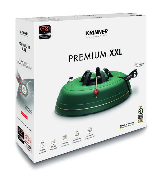 Juletrefot Krinner Premium XXL, 11 L, Grønn