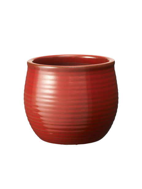 Potte Julia, Ø15 cm, Rød
