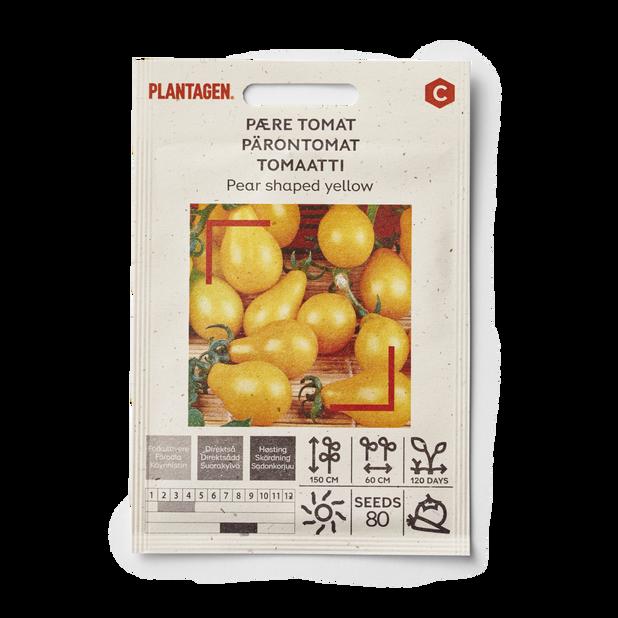 Pære tomat 'Pear shaped yellow'