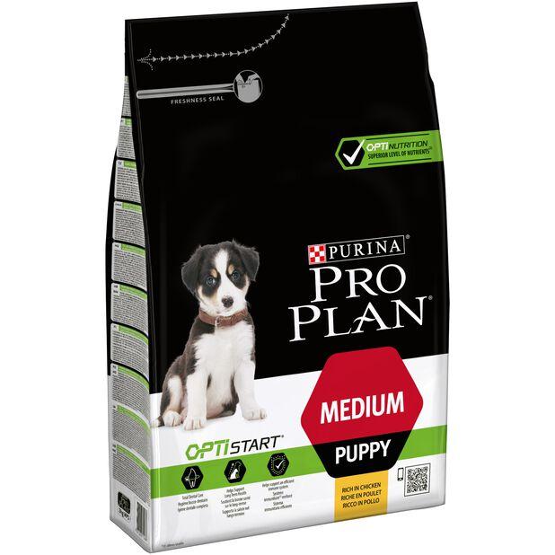 Pro plan medium puppy chicken 3kg, 3 kg, Flerfarget
