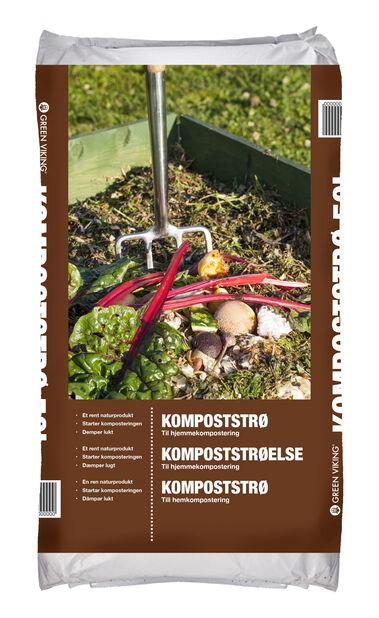 Kompoststrø , 50 L