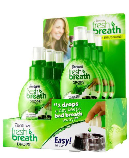 Munnvann Fresh breath drops, 6 pk