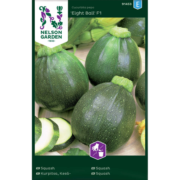 Squash 'Eight Ball' F1, Flerfarget