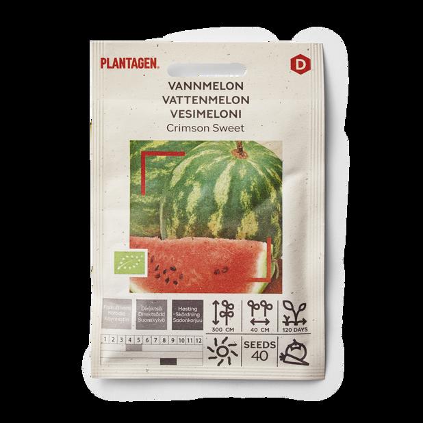 Vannmelon 'Crimson Sweet'