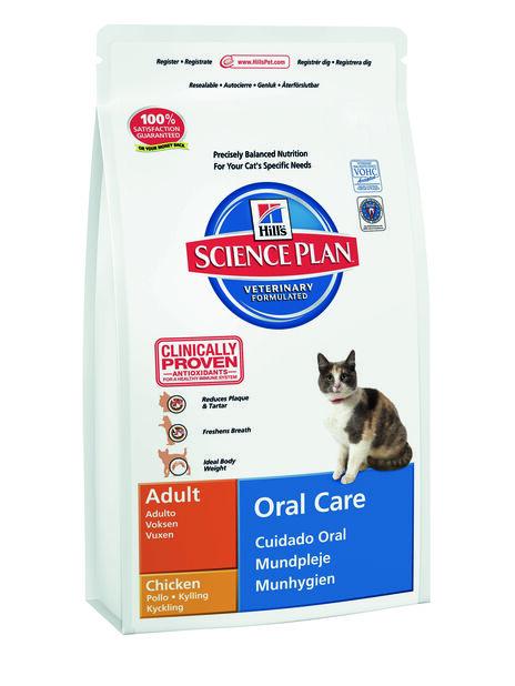 Feline Adult Oral Care 1,5 Kg, 1.5 kg, Hvit
