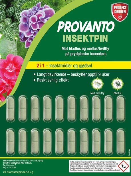 Provanto Insect pins, 20 pk