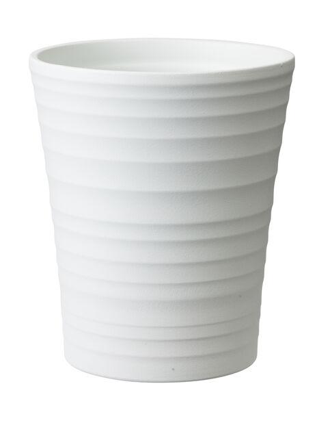 Potte Nellie høy  D , Ø13 cm, Hvit