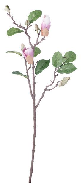 Magnoliakvist kunstig, Høyde 71 cm, Rød