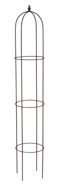 Obelisk rust, Høyde 140 cm, Grå