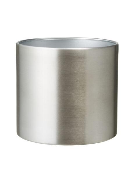 Potte Colin sølvfarget D16