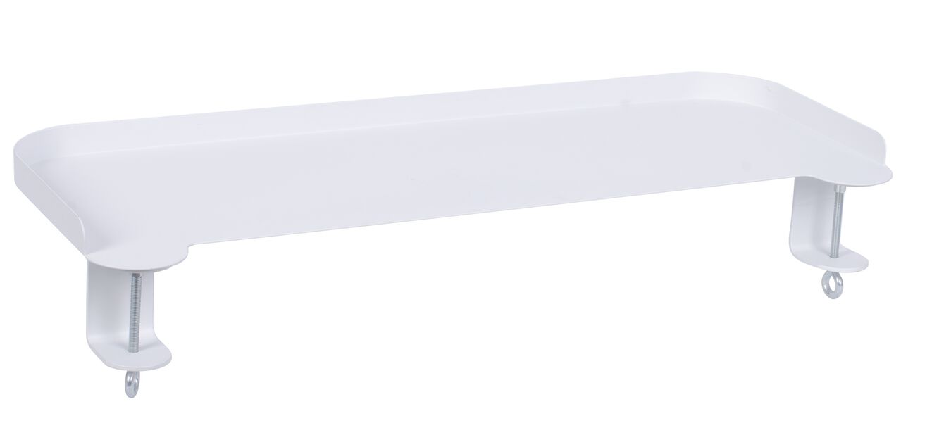 Festbart brett Dalia, Lengde 55 cm, Hvit