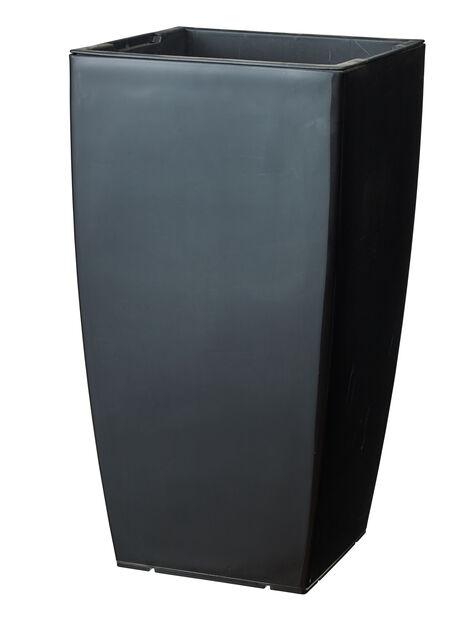 Selvvanningspotte Leva, Ø31 cm, Svart