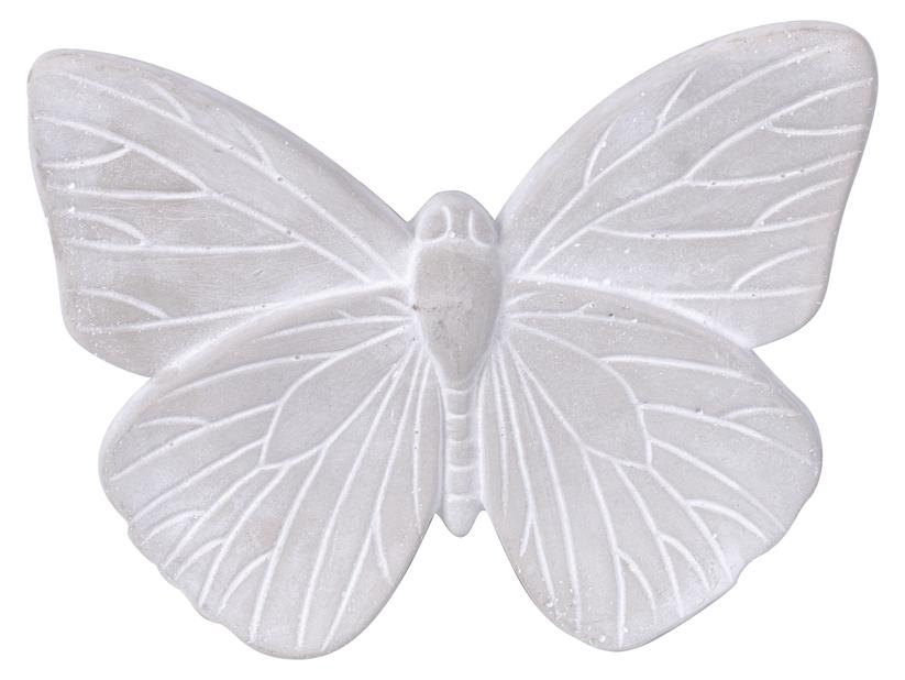 Pyntesommerfugl, Lengde 25 cm, Grå