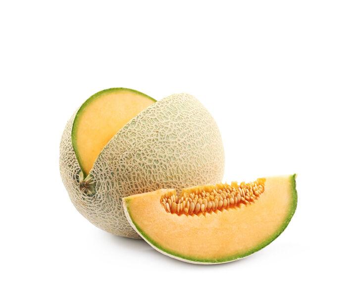 Melon 'Cantaloupe', Ø10.5 cm, Oransje