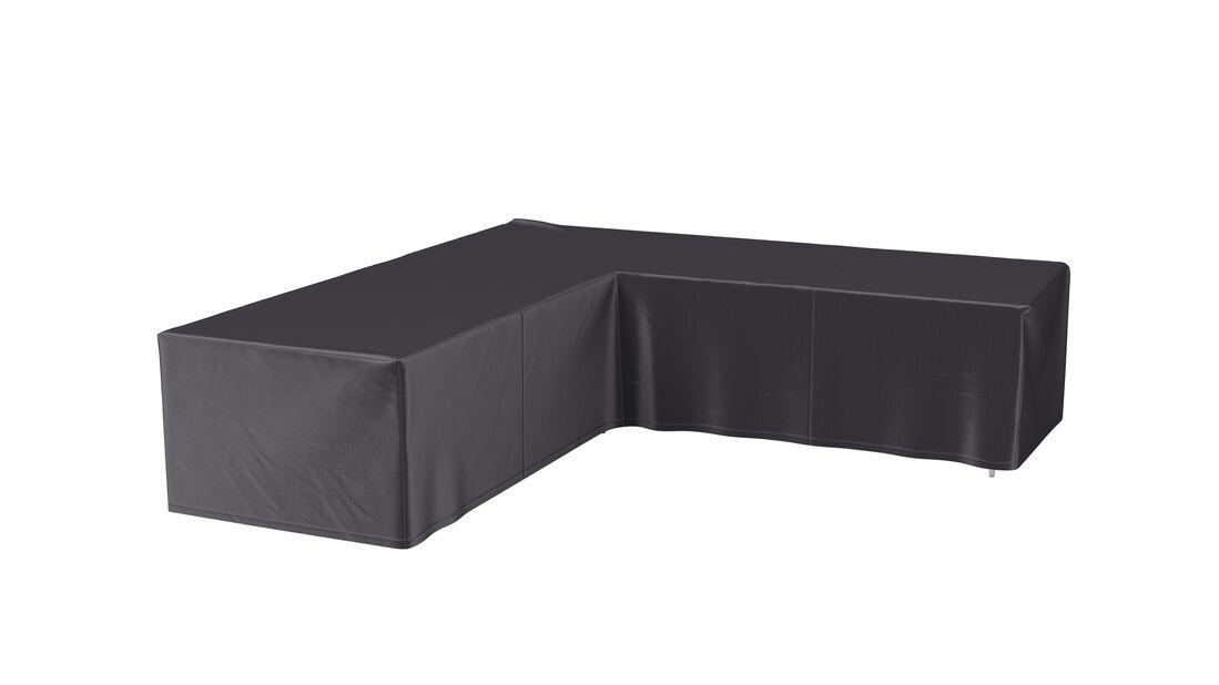 Møbeltrekk lounge, Lengde 255 cm, Grå