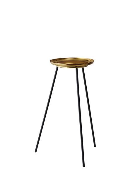 Piedestal Tindra, Høyde 61 cm, Messing