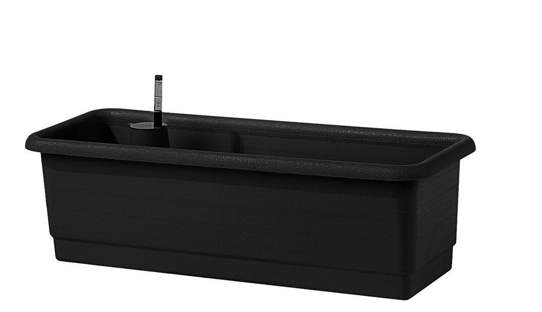 Selvvanningskasse Epoque 80cm svart