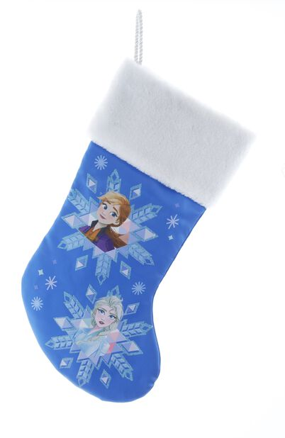 Juletrepynt Disney Frost julestrømpe, Høyde 46 cm, Flerfarget