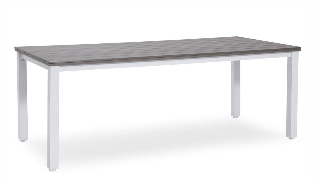 Spisebord Arlöv, Lengde 200 cm, Hvit
