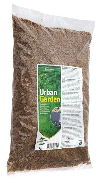 Urban Garden Kompoststrø, 1 kg, Flerfarget