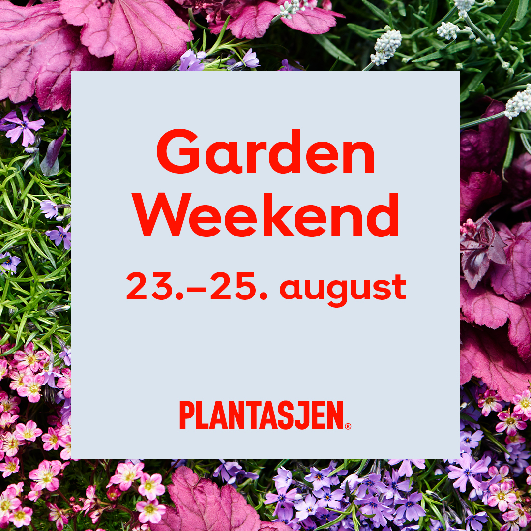 Garden Weekend 23.-25. august